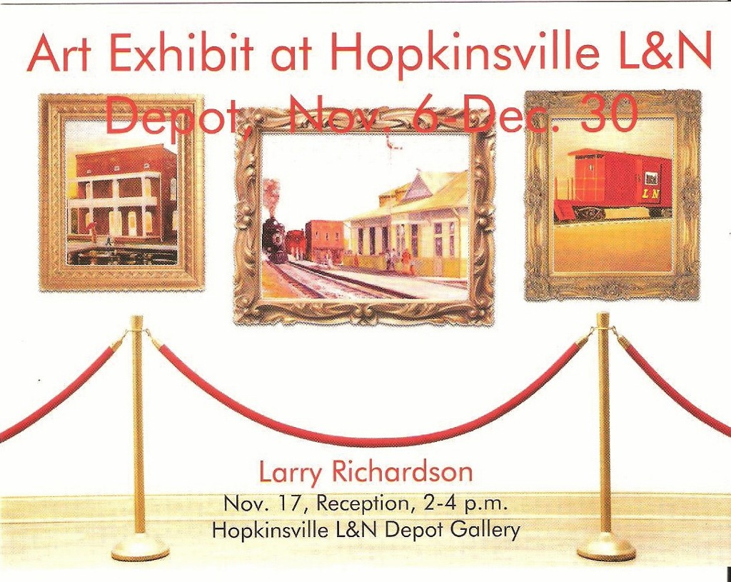 Larry Richardson's Hostorical Crofton Art!